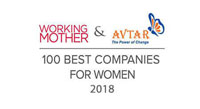 2018 Working Mother & Avtar 100 Best Companies for Women in India